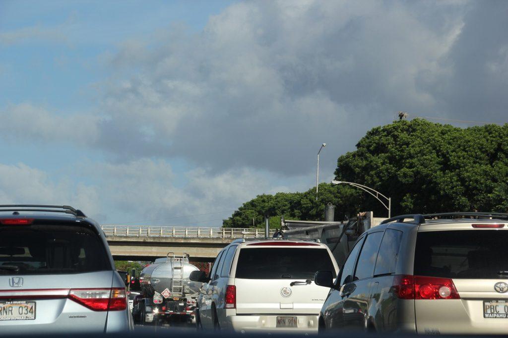 オアフ高速渋滞