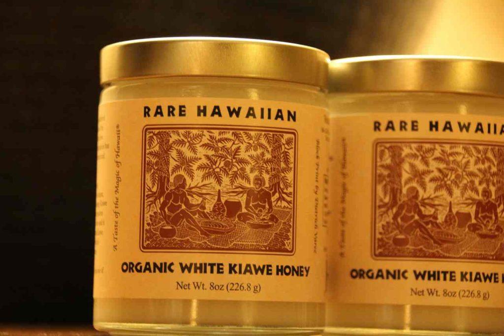 RARE HAWAIIANのORGANIC WHITE KIAWE HONEY