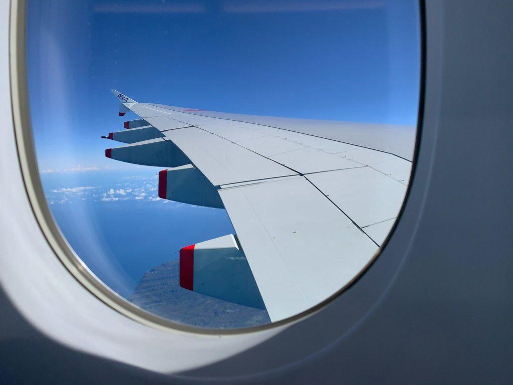 A380窓の外