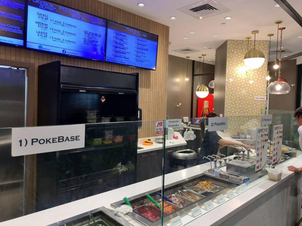 poke & BOK店内1