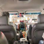 taxi車内
